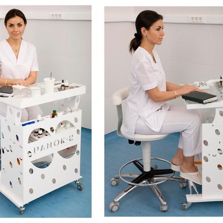 Стоматологический столик Панок 2 (прямоугольный)