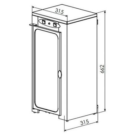 Шафа для зберігання стерильного інструменту Панмед-10М
