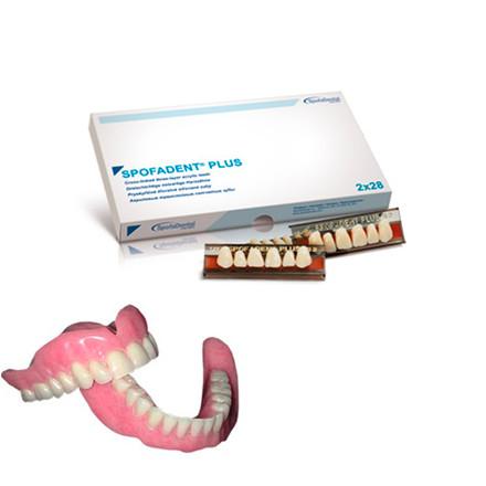 Розпродаж !!! Зуби акрилові Spofadent Рlus А1