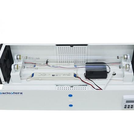 Бактерицидний опромінювач ОРББ-15х2  з таймером (підвісний, до 55-80м³)